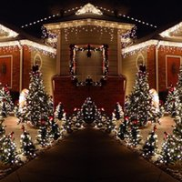 Strings 200 LED Christmas Lamp Solar Fairy String Light Xmas Waterproof Outdoor Garden Party Tree Wedding Holiday Decoration