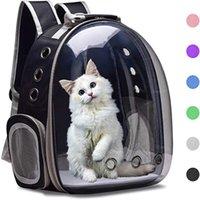 Borsa da compagnia pet traspirante Gatos Dog Cat Basket Portatile Outdoor Travel Zaino Trasporto per la gabbia Maga Forniture Mascotas Portatori, Casse Casse