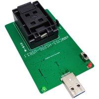 Perline luminose EMMC153 / 169 a USB3.1 Sedile di prova Lettura del sedile BGA153 Burning Telefono cellulare Font Library Programmer