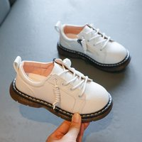 Flat Shoes Kids Baby Girls Leather Flats Children Rome Party Dress Boys Oxford Fashion Platform Soft Mary Jane Toddler