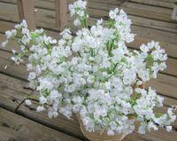 Novas Flores Artificial Gypsophila Falsa Flor De Seda Planta Casa Partido Casa Decoração Casa Festa de Natal Decoração Buquê HWD7430