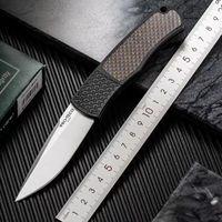 Protech PR-1.51 Magic BR-1 Автоматический складной нож Усы Усы 154 см КНВ CNC T6 Алюминиевый сплав Углеродные Волокна Ручка Авто Открытый Подарок EDC Инструмент