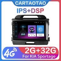 """플레이어 2G + 32G 9 """"2Din Android 8.1 GO KIA Sportage 3 4 2011 2012 2013-2021 라디오 GPS 네비게이션 WiFi"""