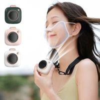 Nackenventilator Tragbare Mini USB-Gadgets Handheld Kühlung Lüfter Luftkühler Wiederaufladbare Outdoor-Reise Silent Ventilador 1xbjk2105