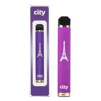 City одноразовые электронные сигареты 1600 Заголовочные устройства перезаряжаемые устройства Vape Peen Starter Kits Vaporizer VS Puff XXL Pro Max