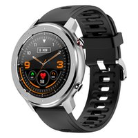 F12 Fashion Smart Band Watch 1.3inch Full Round Full Touch Screen Pedometer Smartwatch Men Heart Rate Monitor Bracelet DT78 L11