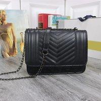 Сумка женщин роскоши дизайнеры сумки 2021 6 цветные повседневные путешествия серебряная цепочка маленькая квадратная сумка PU материал мода на плечо сумка 503 # 22 * 16 * 8см