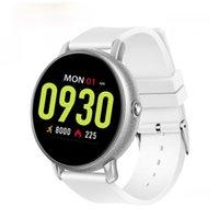 Slimy Smart Watch Herzfrequenz Blutdruck Fitness Tracker Smartwatch Sports Big Screen Bluetooth Anruf Armbanduhr PK KW18 K88H