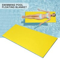 Inflatable Floats & Tubes Water Floating Carpet Summer Mat XPE Beach Swimming Pool Entertainment Bed