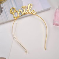 Team Bride Bridesmaid Tiara Crown Headband Bachelorette Party Bride To Be Wedding Bridal Letter Headband Girls Night Gift Hair Hoop 1108 T2