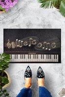 Carpets Piano Door Mat Bedroom Kitchen Bath Floor Mats Home Entrance Multipurpose Doormat Non-slip 45*70cm