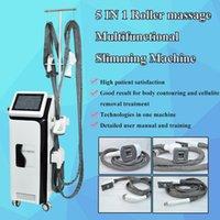 Çok fonksiyonlu Kilo Kaybı Vakum Rulo Zayıflama Vela Şekli Ultrashape Makinesi / 4 Kolları LPG