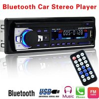 سيارة راديو ستيريو كيت 60WX4 إخراج بلوتوث FM MP3 استقبال راديو راديو Aux مع USB SD والتحكم عن بعد L-JSD-520