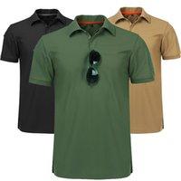 Preto Moisture Wicking Polo Camisa Homens Golfe EUA Macho Marinho Poloshirt Desempenho Verão Para Homem Collared Herren