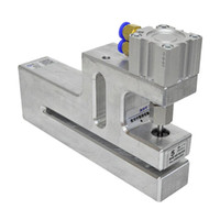 공압 도구 D2 / C 긴 유형 둥근 구멍 비닐 봉투 펀치 기계 제작 펀치 1PC