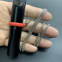 Collar portátil y elegante Cuerda de cordón para E Cigarrillo Vape Pen Pod Coco Disponible Vapes Vapes Puff Bar Bang XXL Airbar