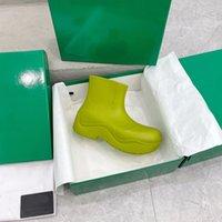 2021 مصمم الفاخرة الصراحة الأحذية روبوان النساء الرجال الحلوى الألوان المطاط المطر منصة الأحذية للماء بولي كلوريد الفينيل