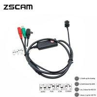 Mini 1080p HD 2.0MP IMX323 Kamera AHD / TVI / CVI / CVBS 4 in 1 Sicherheit Kleine bunte Überwachung Video Verdrahtete CAM IP-Kameras