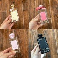 epack الرائحة مذهلة الرائحة جذابة عطر زجاجة الوردي 100ml frangipani زهرة كولونيا النساء