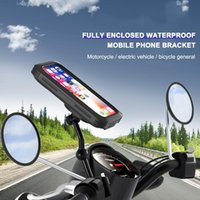 Car & Truck Racks Universal Bike Phone Holder Bag Waterproof Motorcycle Road Bicycle Mobile Cellphone Handlebar Support Rack Front Frame Cas