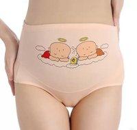 Zwangere vrouwen onderbroek katoen hoge taille big size vrouwen slipje verstelbare moederschap ondergoed broek
