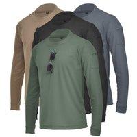 Nuovi uomini Casual O Neck Sweat Skin Stuover T-Shirt T-Shirt T-Shirt T-Shirt Allentato Fit Solid Color Men Uomo caldo manica lunga pullover