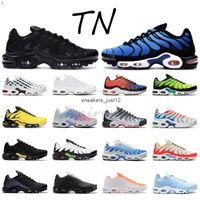 حار mercurial بلس tn ultra se الثلاثي الأسود الأبيض الأزرق تنفس شبكة الاحذية الرياضية رجل المدربين أحذية رياضية 36-45