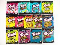 12 Typ MyLar Bag Trolli Trrlli Errlli Edibles Gummies Verpackung Geruchssicher wiederverschließbarer Reißverschlussbeutel 600mg Benutzerdefinierte Logo Runtz