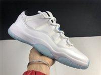 أحذية كرة السلة أحذية رجالية رياضية 11 Low Legend أزرق AV2187-117