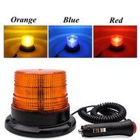 경고 플래시 비콘 긴급 표시 LED 램프 자동차 회전 인마 안전 라이트 자석 천장 상자 플래시 스트로브