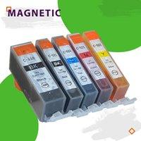 Cartuchos de tinta 5x Cartucho de colores PGI520 CLI521 para Canon Pixma MP540 MP550 MP560 MP620 MP630 MP640 MP980 MP990 MX860 MX870 IP3600 520