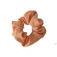 فتاة scrunchy hairbands الحلوى اللون المطاط الفرقة حزب لصالح الإناث عقال ذيل حصان الشعر حبل اكسسوارات 8 ألوان DHE5354