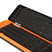 Capa / 3 capas de la capa de la carpa Rig Tackle Box Rigidez del cabello Almacenamiento grande Capacidad Portátil para el equipo de gancho de línea Accesorios