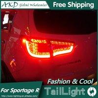 Otro sistema de iluminación AKD CAR STYLING PARA KIA SPORTAGER TAPE LIGHT 2011-2014 SPORTAGE R LED LED Lámpara trasera DRL + Freno + Parque + Señal