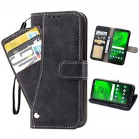 Magnetic 3 in 1 Brieftasche Lederhüllen mit drehbarer Kartenhalter Cash-Slot für Motorola G5 G6 G7 G8 G9 Plus Power Play Series Telefon Fall
