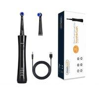 Mornwell فرشاة الأسنان الكهربائية USB قابلة للشحن فرشاة الأسنان الدورية السفر تبييض الأسنان نظافة للبالغين صحية أفضل هدية