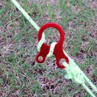 Cabos, Slings e Webbing Shinetrip 10 pçs / lote Acampamento Tenda Cabo de vento Corda Fastener Guy Line Runner Adjuster Carabiner Hook Hanger Hanger1