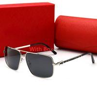 Uomini di alta qualità di alta qualità da donna occhiali da sole designer occhiali da sole rotondi gafas de sol mujer lunetta atteggiamento lunotto di lusso mens polarizzati