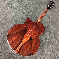Custom 43 Inches Cutaway Jumbo Full Solid Koa Wood LODEN Acoustic Guitar
