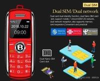 0.66 inç Unlocked Küçük Cep Telefonu Bluetooth Dialer Celular Elleriyle Mini Telefon MP3 Sihirli Ses Çift Sim En Küçük Cep Telefonları