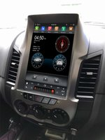 DSL Tesla Style Vertical Screen Android 9.0 Voiture DVD Stéréo Radio GPS Bluetooth 5.0 WiFi pour Ford Ranger F250 2011 2013 2014 2014 2014 Joueur multimédia de voiture 2016