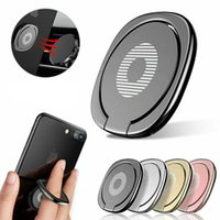 Phone Ring Holder Stand 360 Degree Rotation Metal Finger Grip for Magnetic Car Mount Compatible With iPhone Samsung Android Smartphones