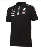 2021F1 Formula One Polo da corsa, poliestere Asciugatura rapida Moto Cultura Cultura T-shirt T-shirt Personalizzazione