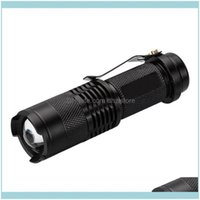 Flashlights Torches And Hiking Sports & Outdoorsly 3 Modes High Power Tactical Handheld Led Mini Zoomable Waterproof Lamp Light For Camping