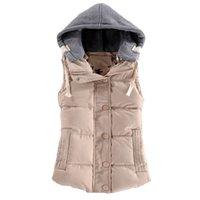 Женский ватный воротник с капюшоном с капюшоном с капюшоном Высокое качество Новая женская зимняя теплая кузовная одежда Осеннее зимнее пальто F778