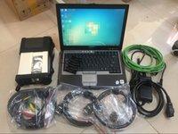 MB STAR Compact C5 Automotive Diagnostic Tool avec Laptop D630 HDD Logiciel pour Bezn prêt à l'emploi