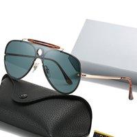 Rétro 2021 mode 3581 BLAZE BLAZE STYLETER SUNGLASSES SUNGLASSES LEOPARD Imprimer Vintage Cool Brand Design Lunettes de soleil