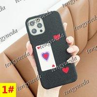 Modedesigner Graffiti Telefon Hüllen für iPhone 12 11 Pro Max XS XR XSMAX 8P Leder Hartschale Mobiltelefonabdeckung mit Samsung Note20 Ultra Note10 S21 S20 S10 Plus