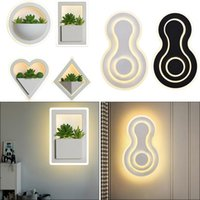 29W 10W Modern LED Wall Light Acrylic Bedside Lamp For Home Living Room Kids Bedroom Decor With Planter Fixture Lamps