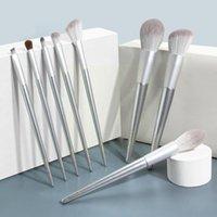 Makeup Brushes 8pcs set Brush Wooden Handle Set Blush Tools Eye Loose Style Shadow Powder Beauty P2y7